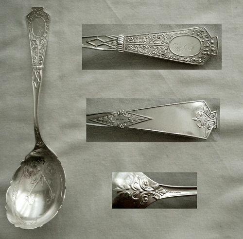 "Joseph Seymour ""Duchess"" Sterling Silver Berry Spoon"