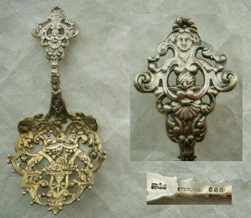 "Gorham ""588"" Sterling Silver 19th Century Bonbonniere"