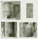 "Durgin ""Mary Had a Little Lamb"" Engraved Sterling Silver Mug"