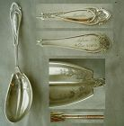 "Wood & Hughes ""Venetian"" Sterling Silver Serving Spoon, Akron, Ohio"