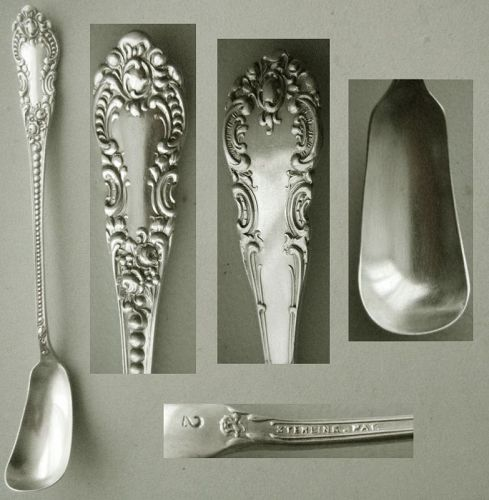 "Knowles ""Apollo"" Sterling Silver Horseradish aka Honey Spoon"