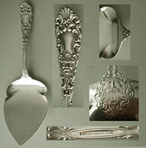 "Dominick & Haff ""Renaissance"" All Sterling Pie Server"