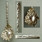 Sheibler Rococo Sterling Silver Spoon Topliff & Co., St. Paul