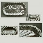 "Gorham No. 255 ""Wave Edge"" Small Sterling Silver Aesthetic Tray"