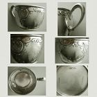 Dominick & Haff Sterling Silver Handled 1890s Cup or Mug