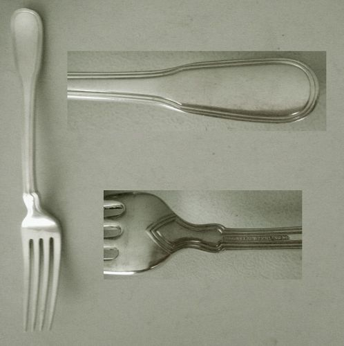 "Tiffany ""Hamilton"" Sterling Silver Place Fork"