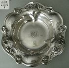 Gorham Art Nouveau Wild Rose Sterling Silver Centerpiece Bowl