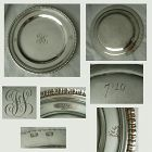 Robert Wilson Sr. Early 19th Century Heavy Coin Silver Dish