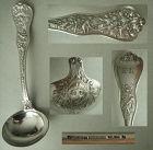 "Tiffany ""Olympian"" Plain Bowl Sterling Silver Gravy Ladle"