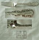 "Graf & Niemann ""Louis XV"" Sterling Earl Patent Fork for Young Children"