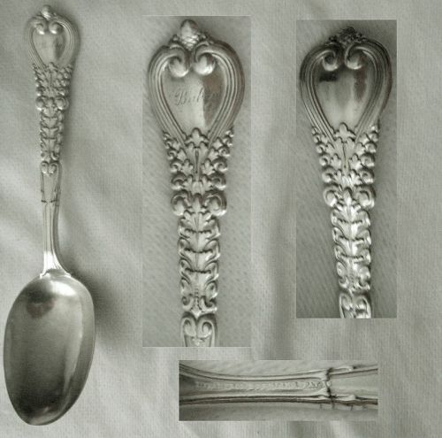 "Tiffany ""Florentine"" Sterling Silver ""Baby"" Spoon"