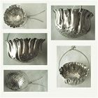 Gorham Aesthetic Hanging Basket Sterling Silver Tea Strainer