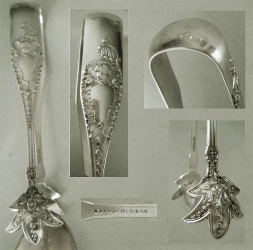 "Watson ""Cherub"" A. Frankfield & Co. Sterling Silver Sugar Tongs"