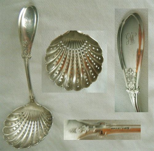 "Whiting ""Italian"" Sterling Silver Sugar Sifter"