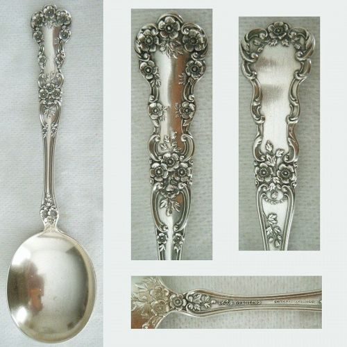 "Gorham ""Buttercup"" Old Sterling Silver Gumbo Spoon"