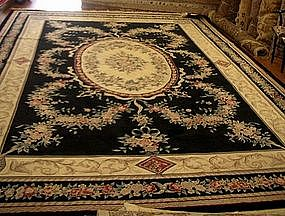 Chinese Handmade Wool Aubusson Style 240 kpsi Carpet