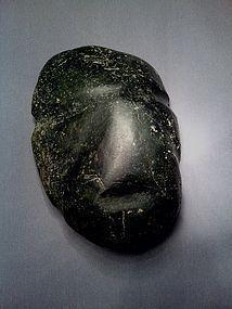 Pre-Columbian Mezcala Maskette Stone