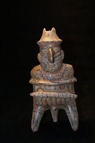 Pre-Columbian Male Warrior Ixtlan del rio � Nayarit