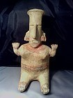 Pre-Columbian Sitting Female San Juanito � Jalisco