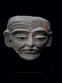 Pre-Columbian Teotihuacan Articulated Maskette. Mexico