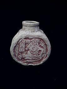 Pre-Columbian Mayan Poison Vessel � Guatemala
