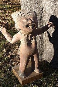 Large Standing Soriente Figure. Remojadas, Vera Cruz