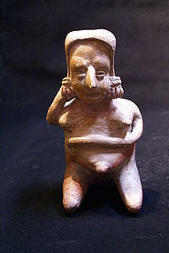 Very Nice Pregnant Jalisco Figure, San Juanito Style