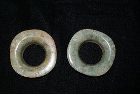 Maya Jade ear spools