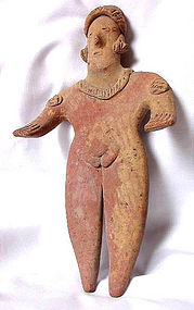 Pre-Columbian Colima Female Figure