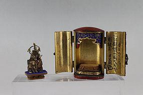 Traveling Shrine Zushi Shichimen Daimyojin Nenjibutsu