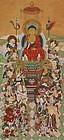 Japanese Buddhist Art Sixteen Good Spirits Deity Edo period 19th C.