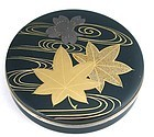 Japanese lacquer incense box