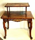 A Gabriel Viardot Signed Tea Table (1830-1906)