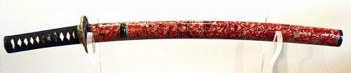 Wakizashi (Short Sword) by Sada-Toshi 19th Century