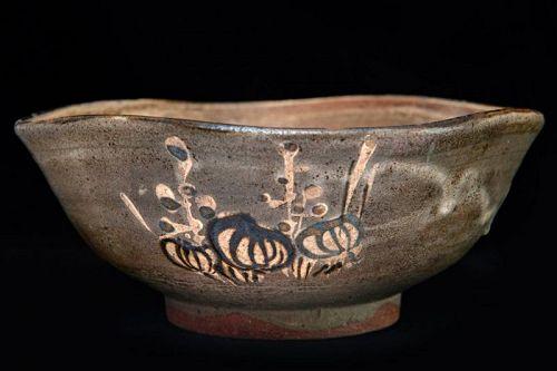 Kiyomizu Shichibei (1818�1891) Old Pottery Bowl Kenzan Ogata Style