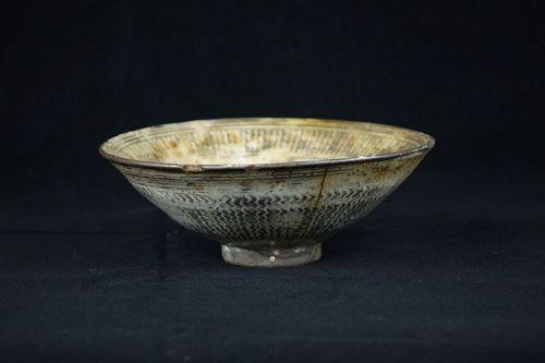 17th century Korean Buncheong bowl