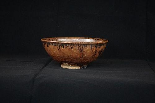 11th Generation Zengoro Eiraku Hozen (1795-1855) Tea Bowl (Chawan)