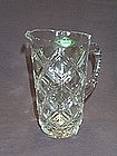 Shannon Crystal Lead Crystal Pitcher, Hand Crafted