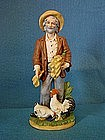 HOMCO 1477 Old Farmer Figurine