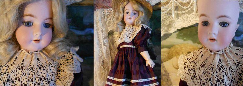 ** SOLD ** Heinrich Handwerck 99 DEP Bisque Bebe Doll Head