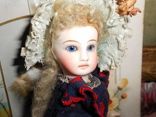 *** SOLD ** Antique Sonneberg Belton French 'Jumeau' Doll