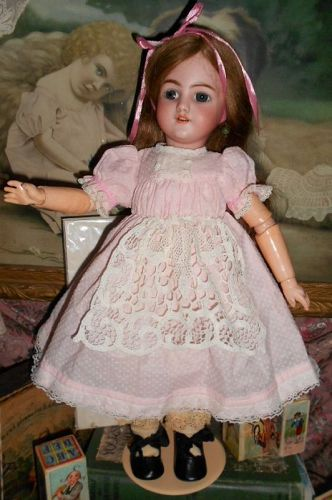 *** SOLD ** Simon & Halbig 1249 Antique 'Santa' Doll
