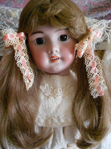 Tete Jumeau 27� DEP French Bisque Doll