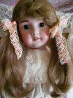 Tete Jumeau 27� DEP French Bisque Doll