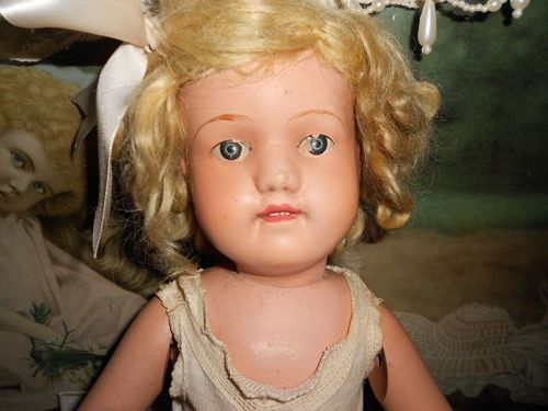 *** SOLD ** Schoenut Antique �Miss Dolly� 316 Mold Wooden Doll