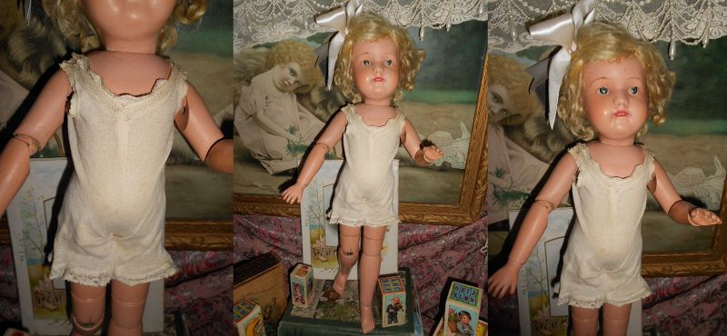 *** SALE PENDING ** Schoenut Antique �Miss Dolly� 316 Mold Wooden Doll