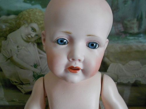 *** SALE PENDING ** Adorable Kestner Hilda Antique Reproduction Doll