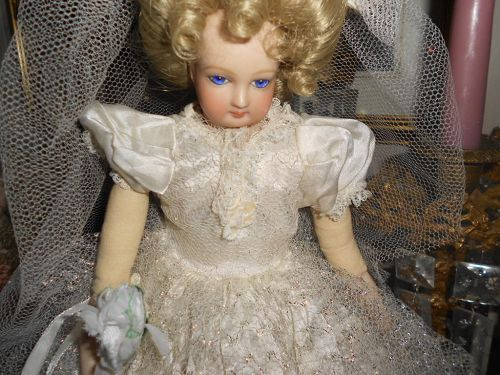 ** SOLD *** Antique FG French Fashion Artist Reproduction Doll