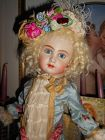 *** SOLD ** Artist Emily Hart Jumeau Reproduction Bisque Doll