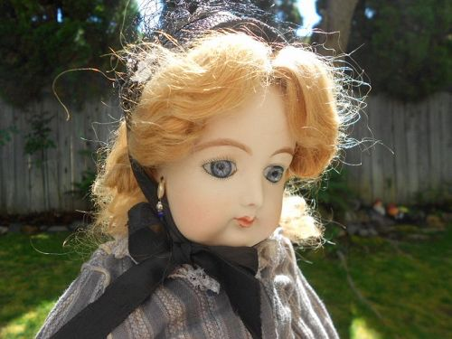 *** LAYAWAY ** Antique French Fashion Reproduction Doll